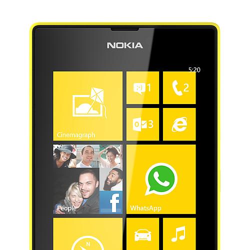 grey Nokia Lumia 520 Özellikleri