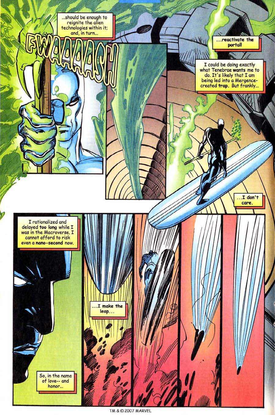 Read online Silver Surfer (1987) comic -  Issue #143 - 20