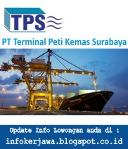 Lowongan Kerja PT Terminal Petikemas Surabaya