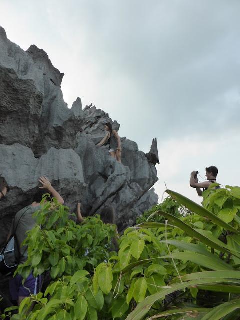 Subida al mirador de Monkey Island