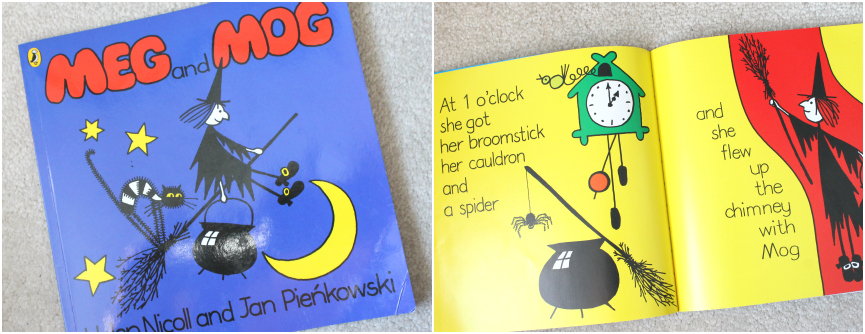 Kids Halloween Books,  meg and mog