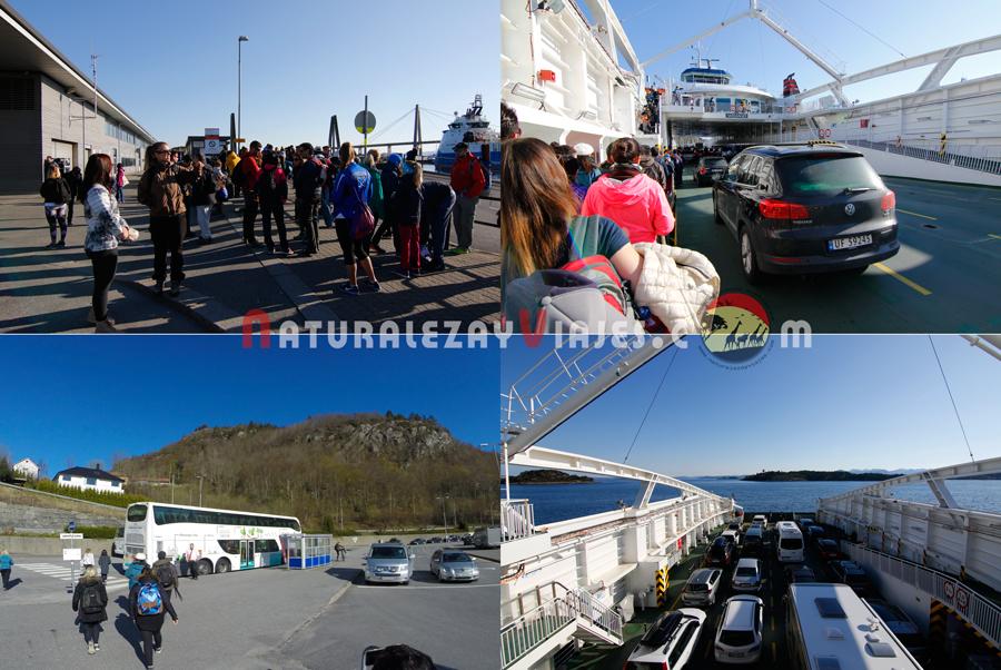Ferry Preikestolen, Noruega