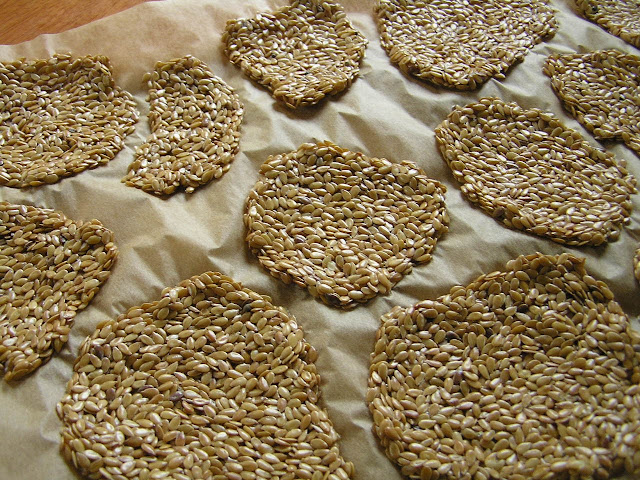 dehydrate flax crackers