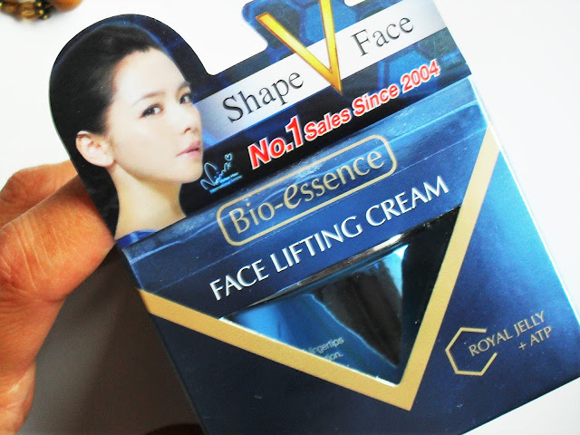 Bio-Essence Face Lifting Cream with Royal Jelly + ATP
