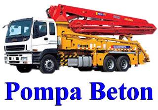 JASA SEWA POMPA BETON / CONCRETE PUMP CIBUBUR