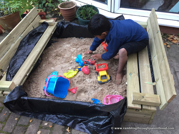 Wickey Sandpit Flip - Review and Giveaway