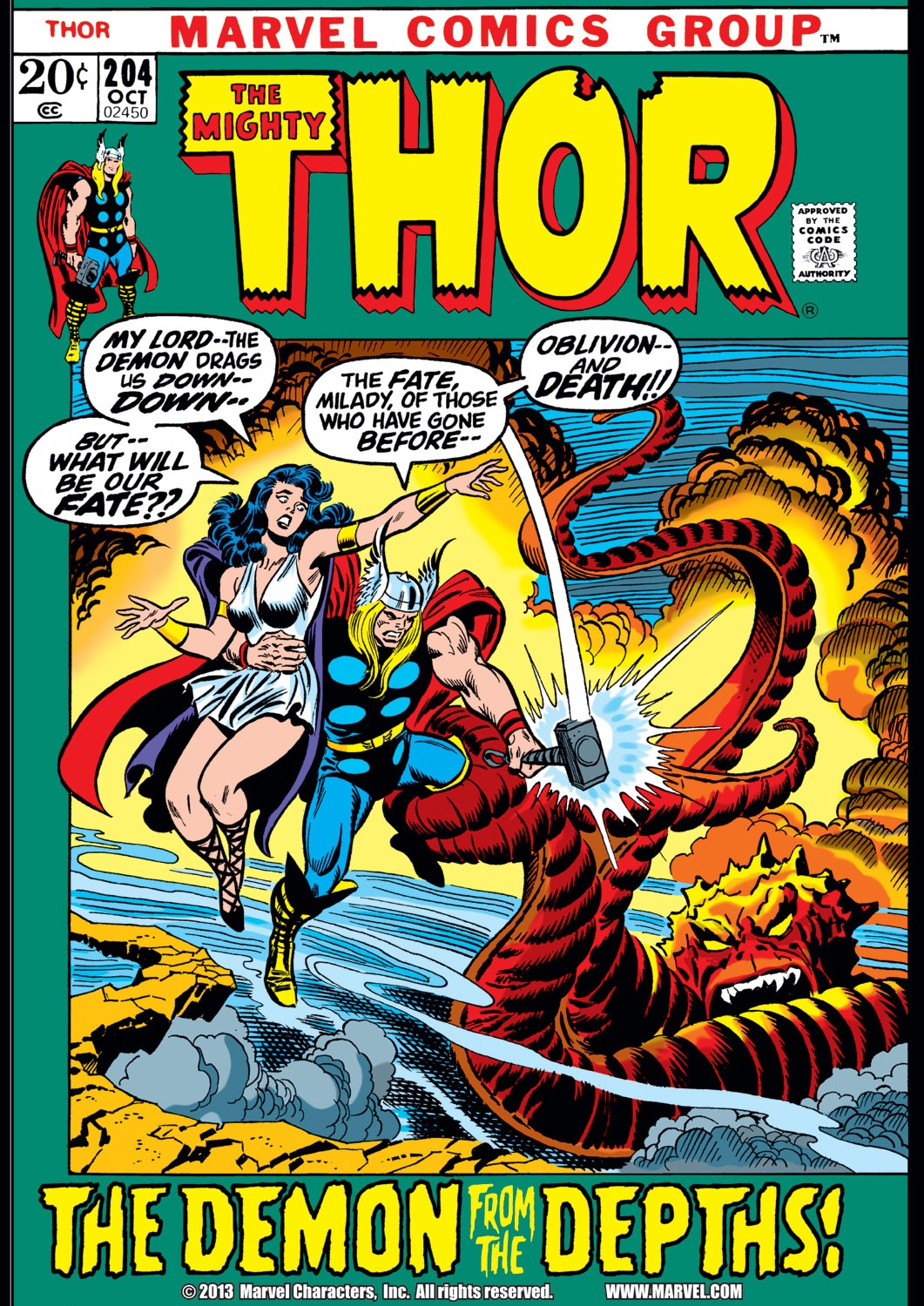 Thor (1966) 204 Page 1