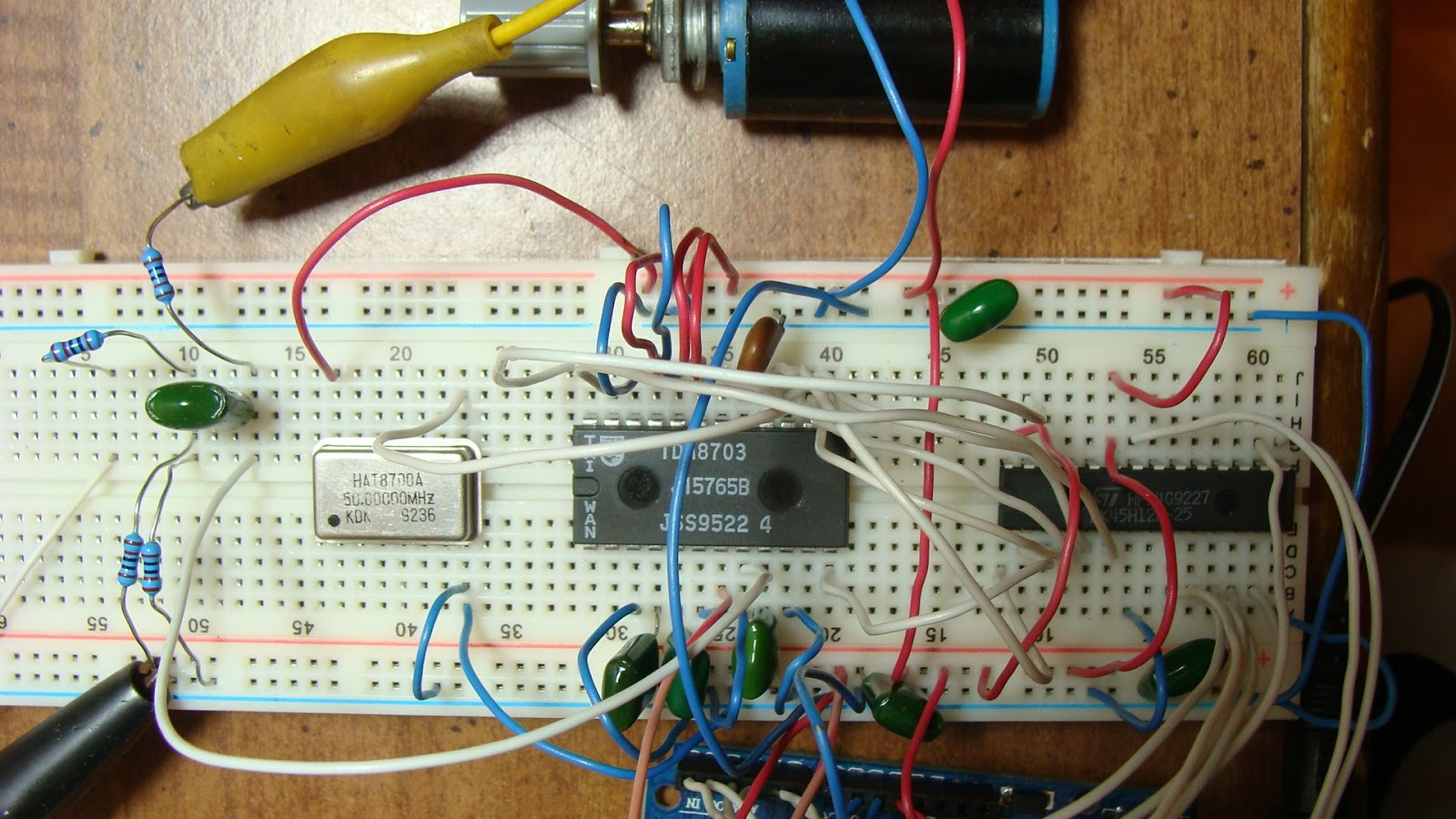 My Commentary and Technical help: Arduino 50 MSPS DSO