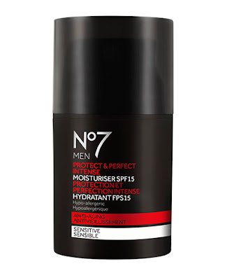 No7 Men Protect & Perfect Intense Moisturiser SPF 15 ($26.00 x 50 ml)