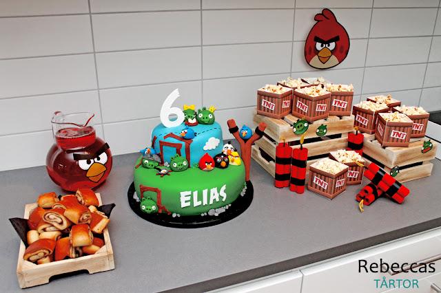 Angry Birds kalasbord
