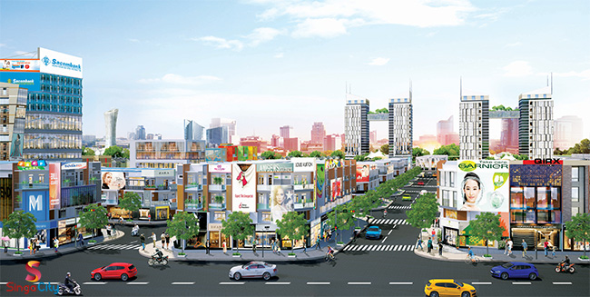 dự án Singa City 4