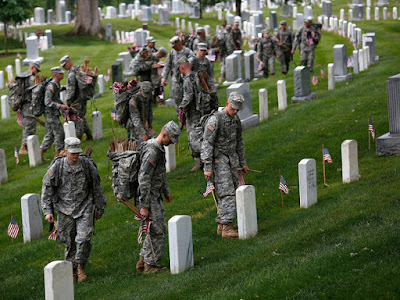 Arlington Cemetery is one of the United States Military Cemetery