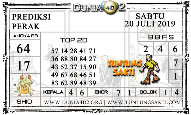 """Prediksi Togel """"PERAK"""" DUNIA4D2 20 JULI 2019"""