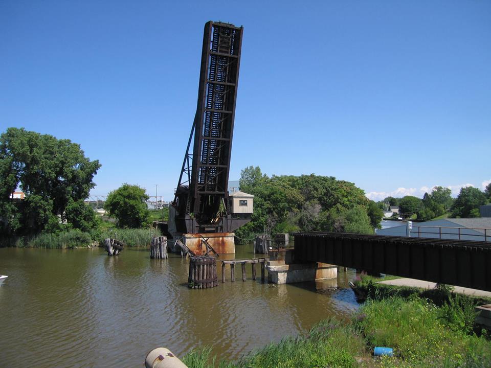 Industrial History Cn Gtw Bridge Over Black River In Port
