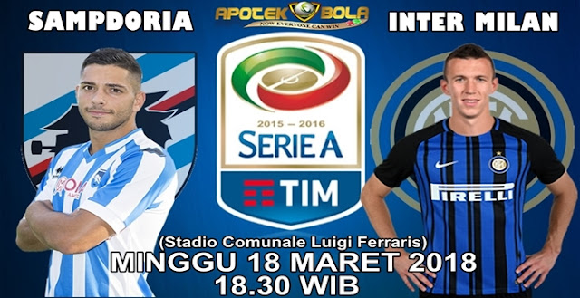 Prediksi Sampdoria vs Inter 18 Maret 2018