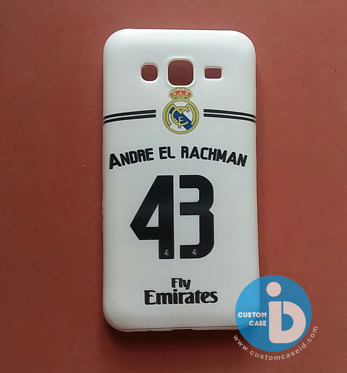 casing custom jersey real madrid terbaru