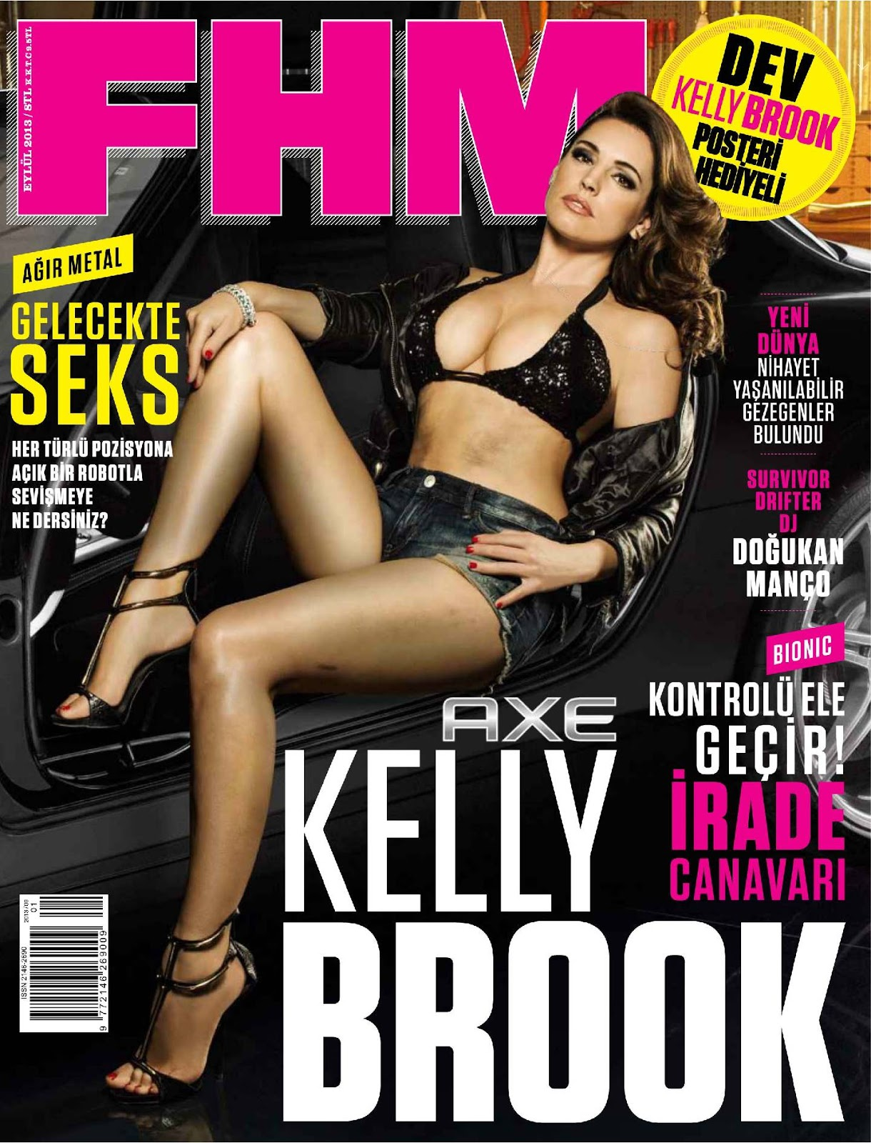 FHM Turkey Magazine Magazine September 2013