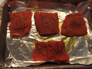 baking salmon in the oven