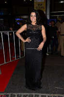 Wamiqa Gabbi in a sleeveless Black Designer Transparent Gown at 64th Jio Filmfare Awards South ~  Exclusive 037.JPG