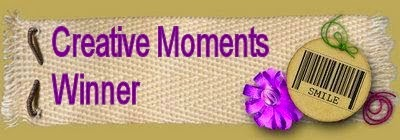 2 x Creative Moments Winner