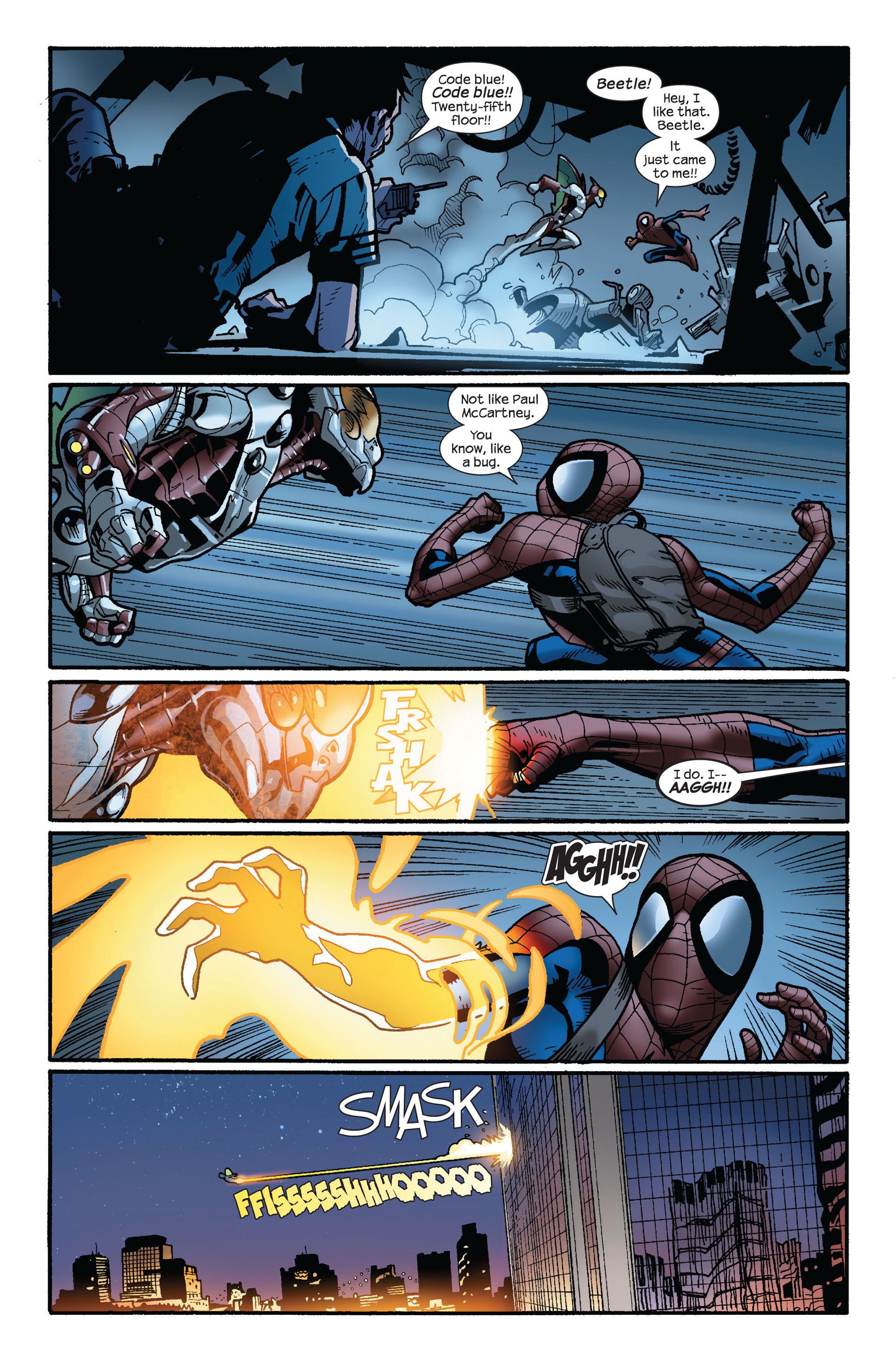 Read online Ultimate Spider-Man (2000) comic -  Issue #124 - 17