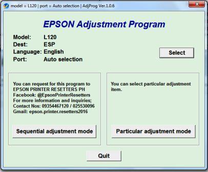 Cara Reset printer Epson l120 dengan mudah - ONEtrik