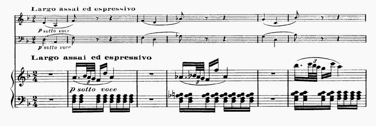 Piano piano trio sheet music : Musical Musings: Beethoven - Piano Trio In D Major Opus 70, No. 1 ...
