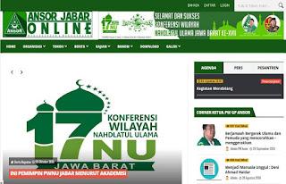 PW Ansor Jabar Ramaikan Media Online