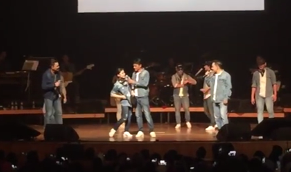 (VIDEO) Lisa Surihani Buat 'Suprise' Ketika Konsert KRU MENGEJUTKAN Peminat!