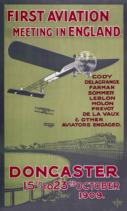 Aviation meeting poster