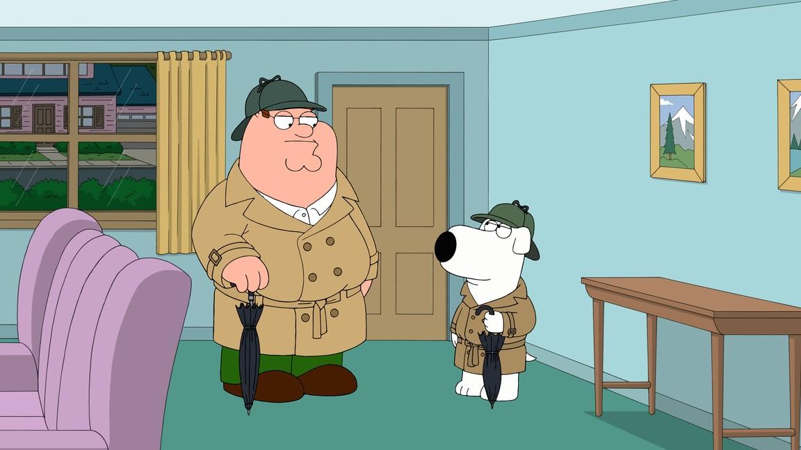 Family Guy - Season 13 Episode 8: Our Idiot Brian