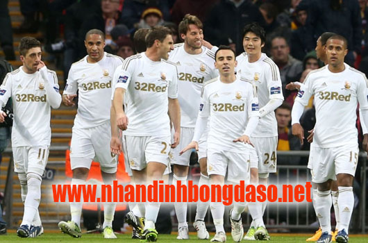 Burnley vs Swansea City www.nhandinhbongdaso.net