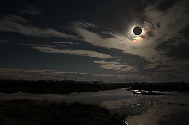 Total Solar Eclipse in Belitong Island