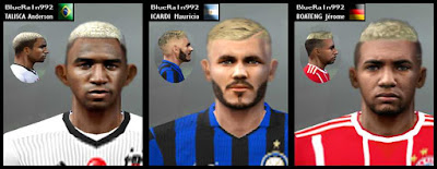 PES 6 Boateng, Icardi & Talisca Anderson Faces