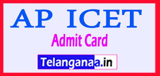 AP ICET Admit Card 2017 Hall ticket Download