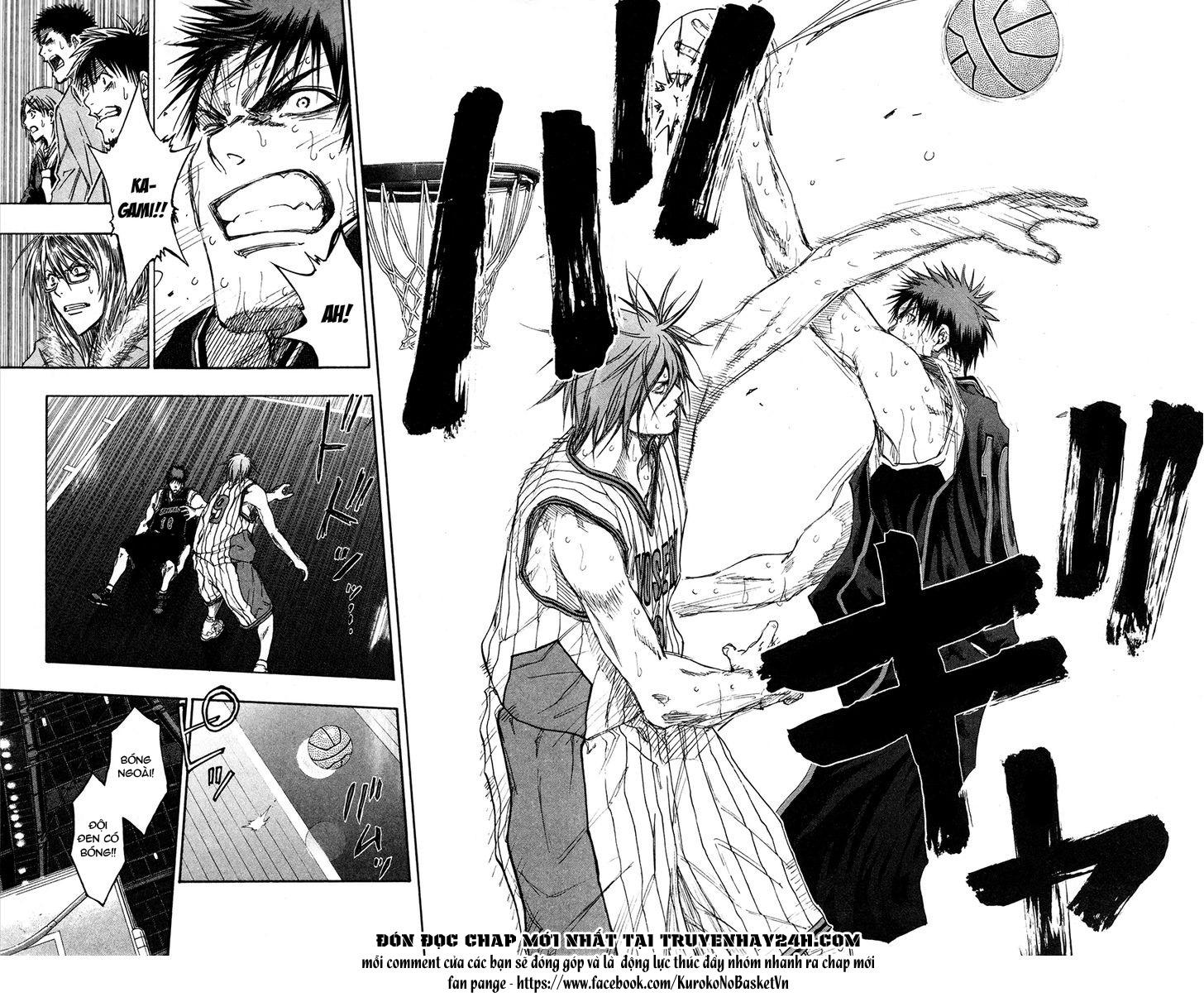Kuroko No Basket chap 154 trang 10