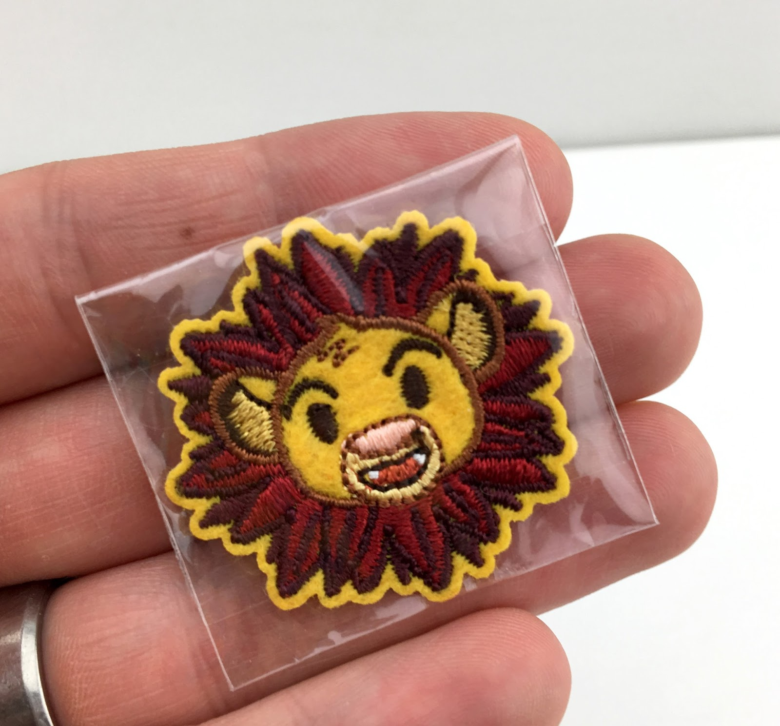 disney store summer play days simba patch