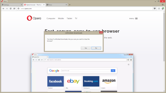 Opera Browser Terbaru (Software Internet Tercepat)