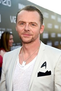 Simon Pegg. Director of The World Is End