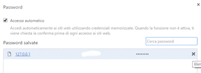 Come eliminare le password salvate su google chrome