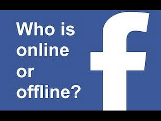 View Online Friends on Facebook being Offline