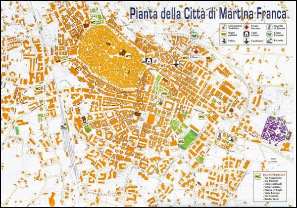 Plan de Martina Franca