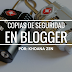 Copias de seguridad en Blogger