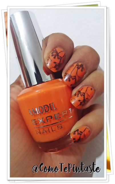 amodil, naranja, orange, polish