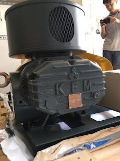 máy thổi khí kfm sl 125 hàn quốc