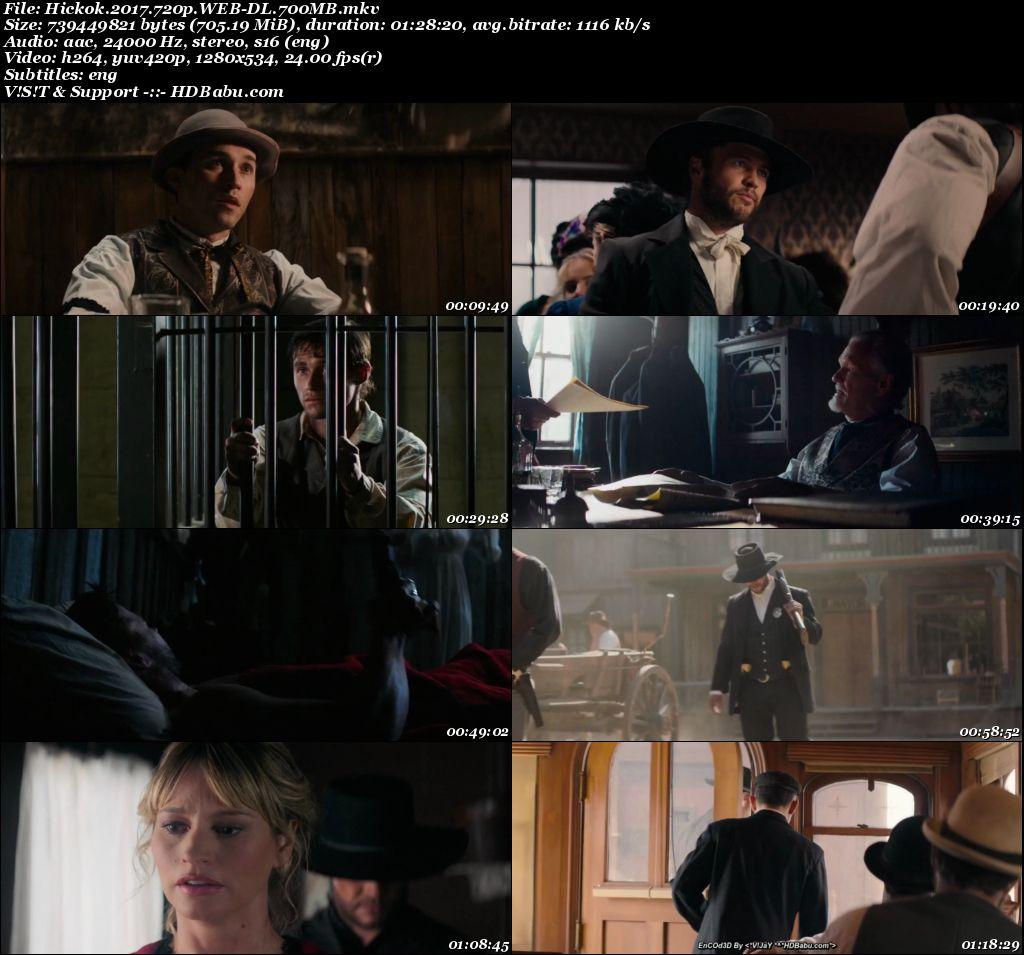Hickok Full Movie Download 720p English HD, Hickok (2017) English 720p WEB-DL 700 MB ESub