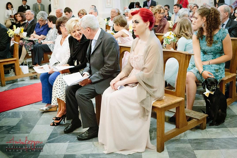 invitati alla celebrazione del matrimonio a Genova