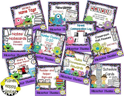 https://www.teacherspayteachers.com/Product/Classroom-Decor-Theme-Bundle-Monster-2612074