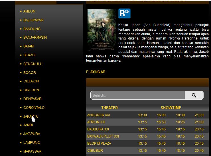 Cara Cek Jadwal Film Xxi Secara Online Sebelum Nonton Film Bioskop
