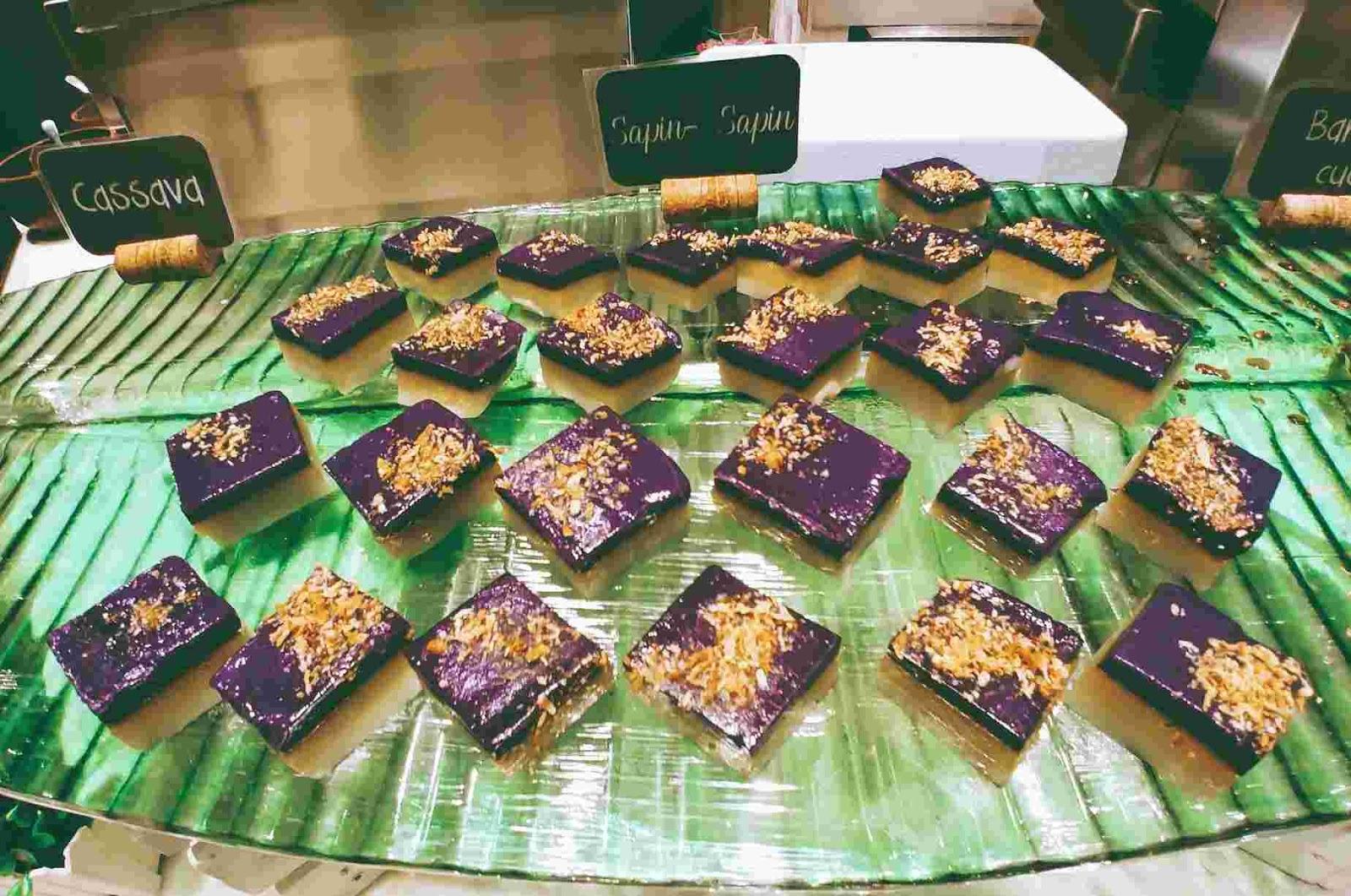 Vikings Luxury Buffet: sapin sapin or native cakes